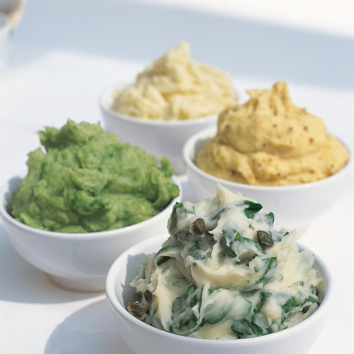 A picture of Delia's Mashed Potato with Three Mustards recipe