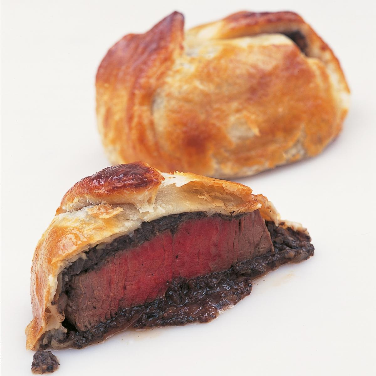 A picture of Delia's Mini Boeufs en Croute recipe