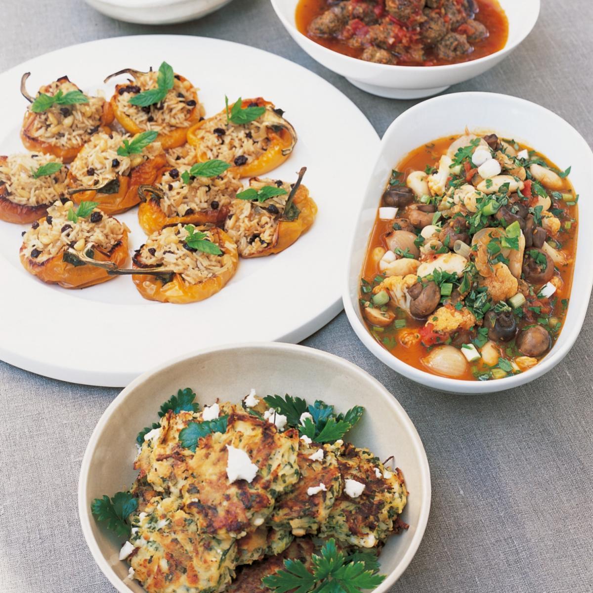 A picture of Delia's Mixed Vegetable Salad a la Grecque recipe