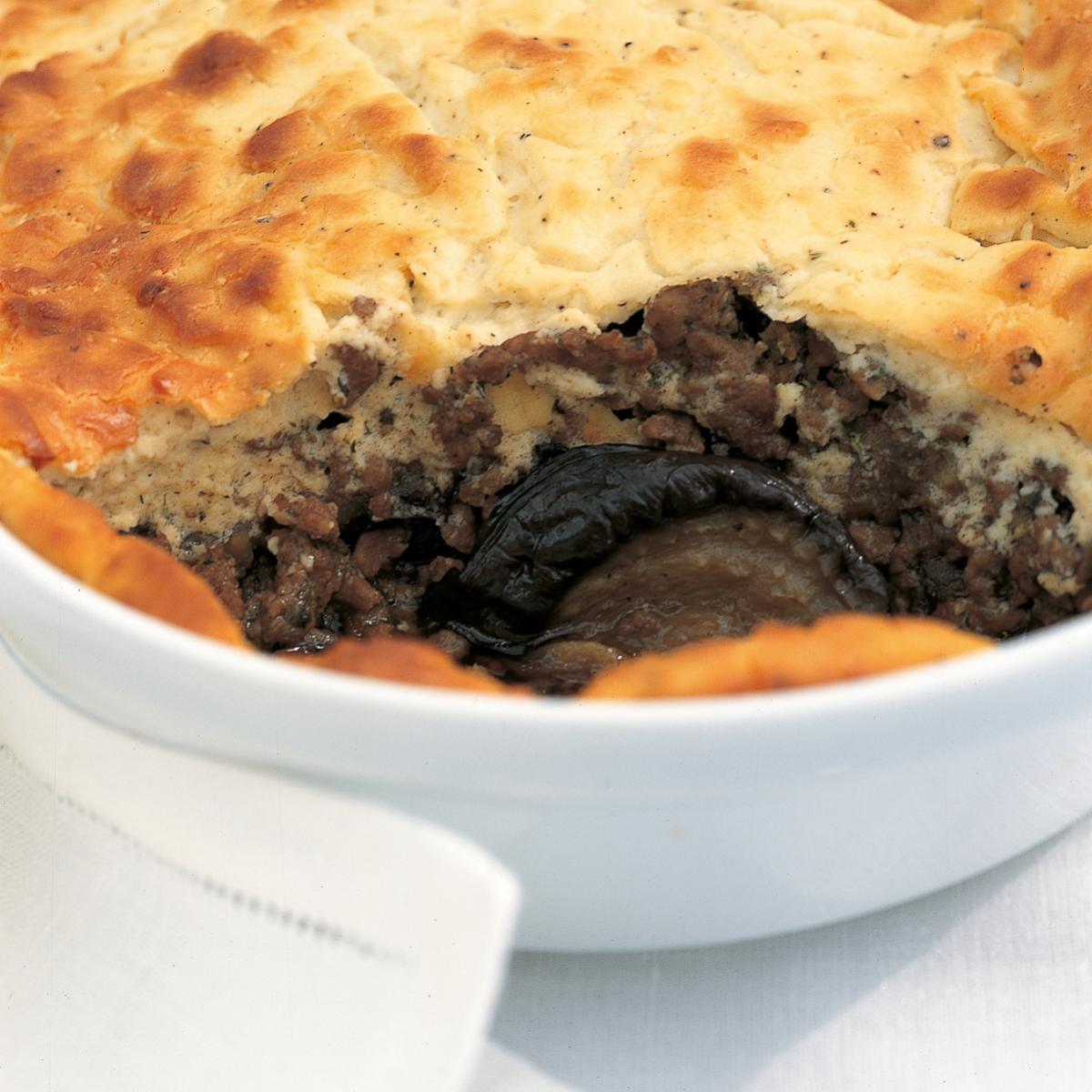 A picture of Delia's Moussaka with Roasted Aubergines and Ricotta recipe