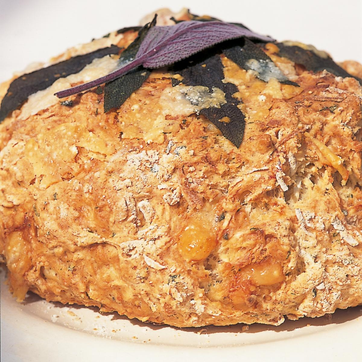 Htc parsnip parmesan and sage bread