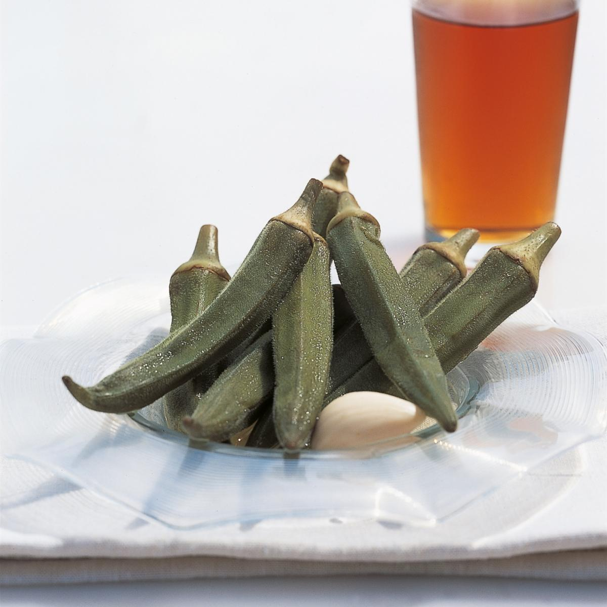 A picture of Delia's Pickled Okra recipe