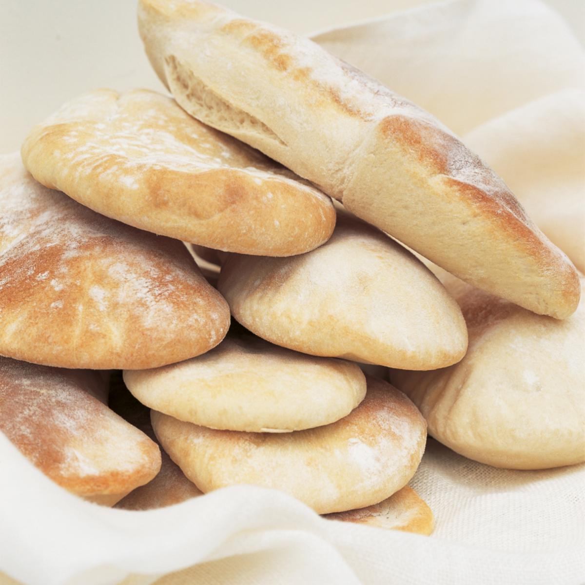A picture of Delia's Pitta Bread Salad recipe