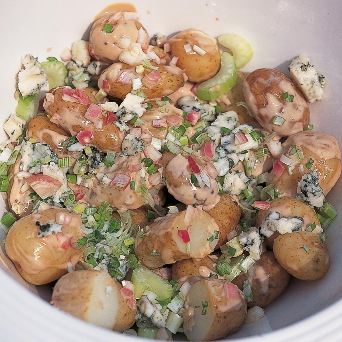 Potato Salad With Sherry Mustard Vinaigrette Recipe — Dishmaps
