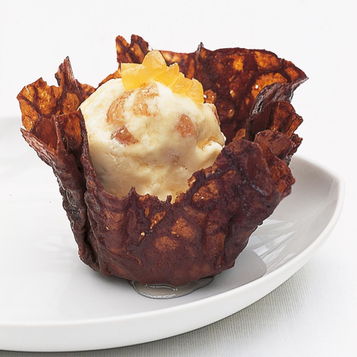 A picture of Delia's Preserved Ginger Ice Cream recipe