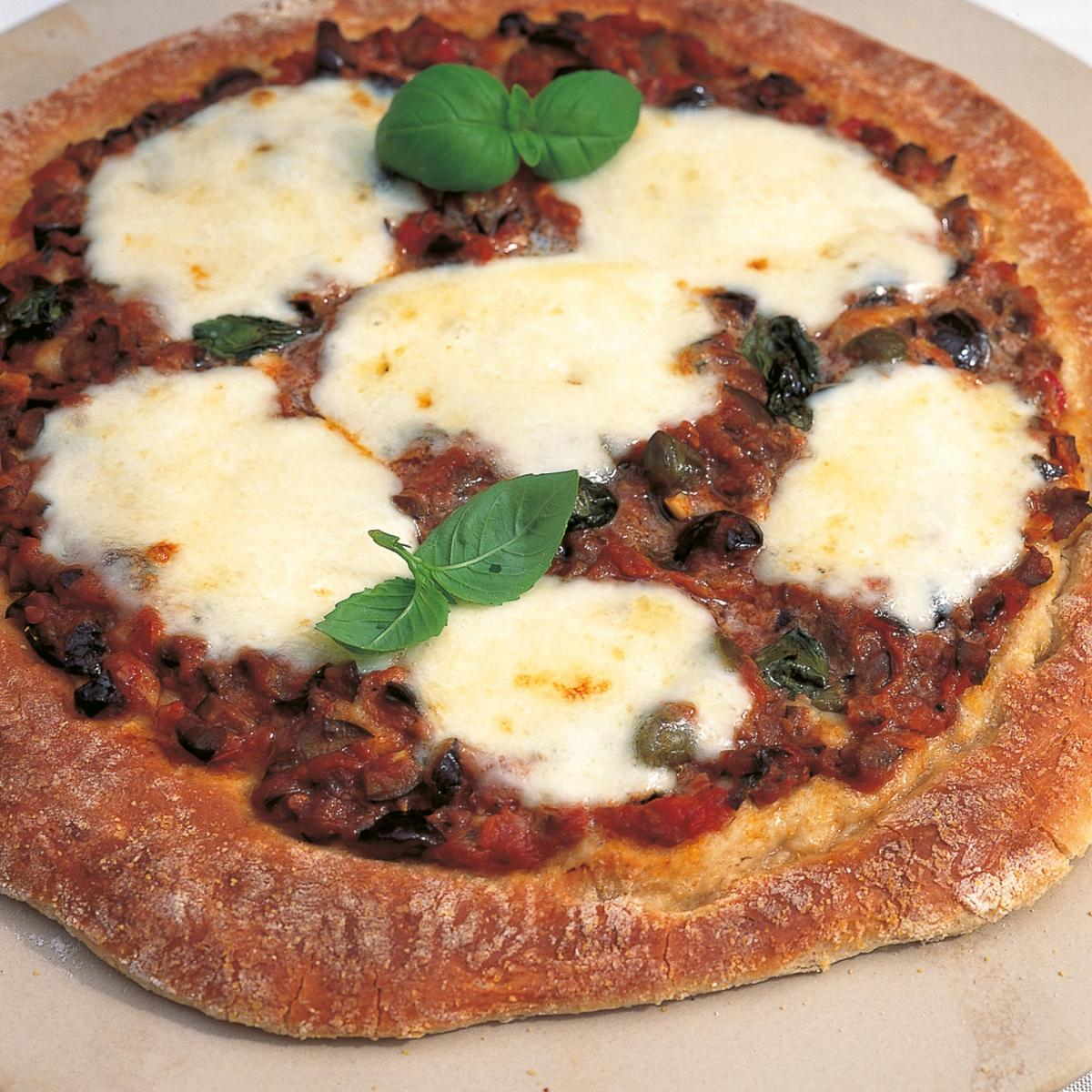 A picture of Delia's Puttanesca Pizza recipe