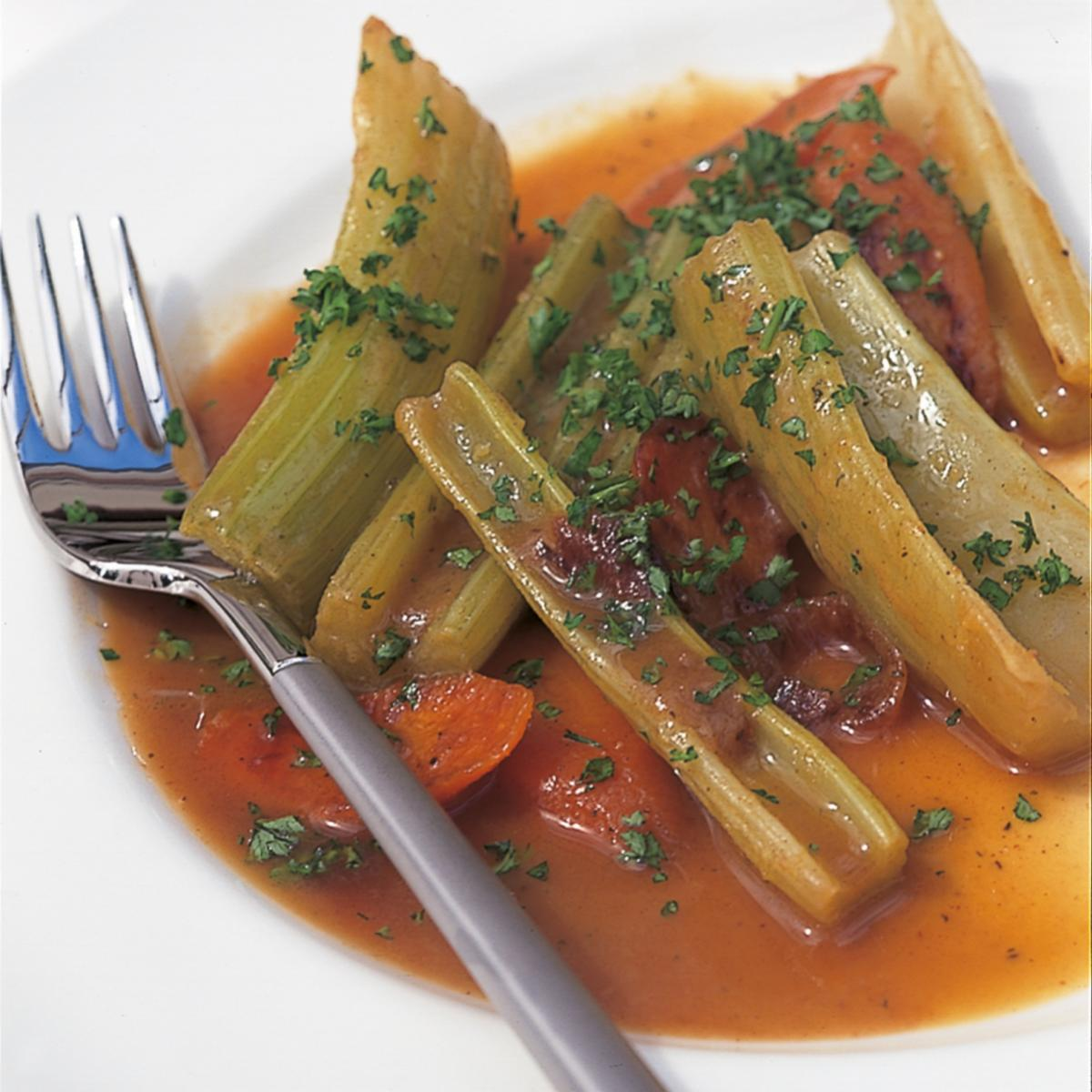 A picture of Delia's Quick-Braised Celery recipe