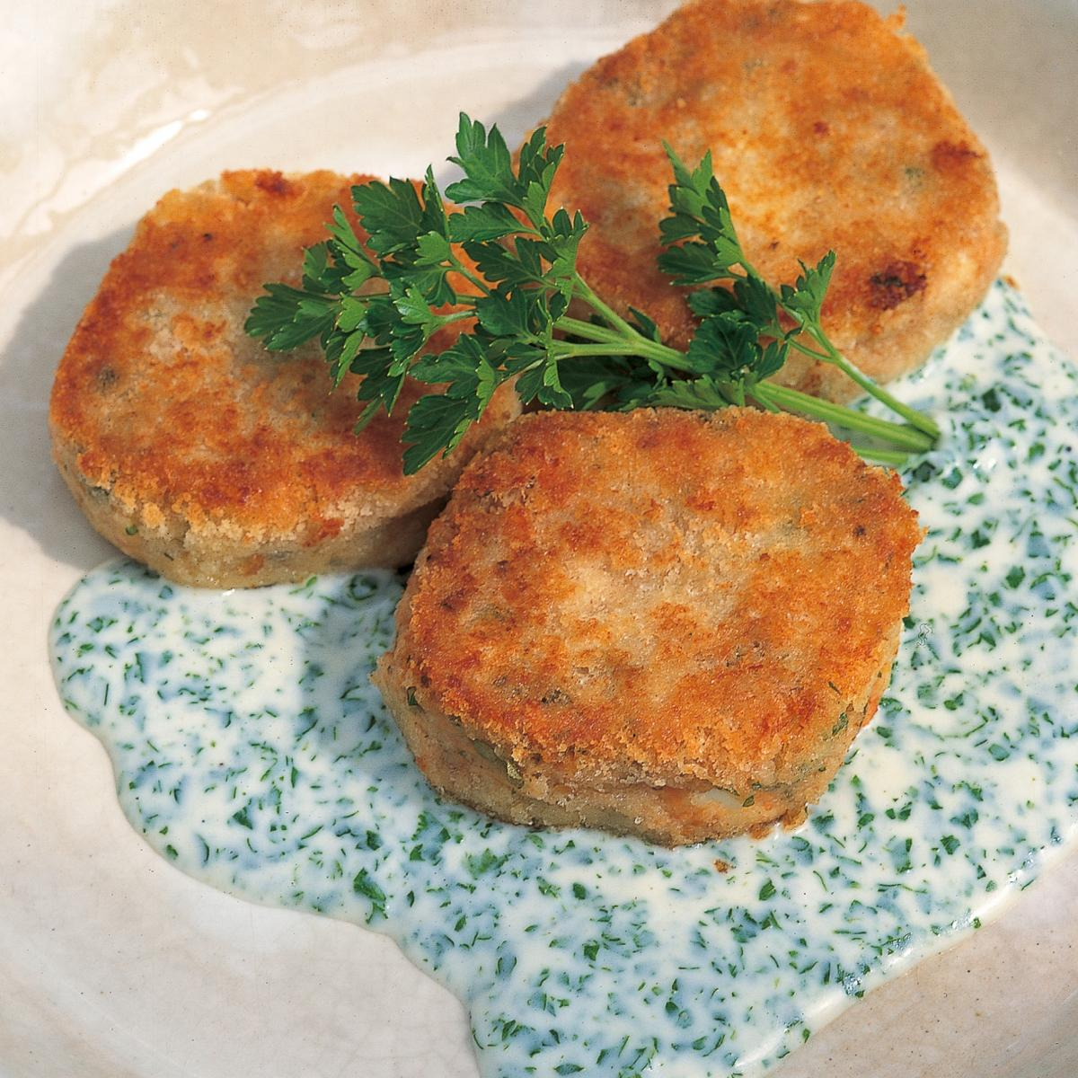 A picture of Delia's Salmon Fishcakes recipe