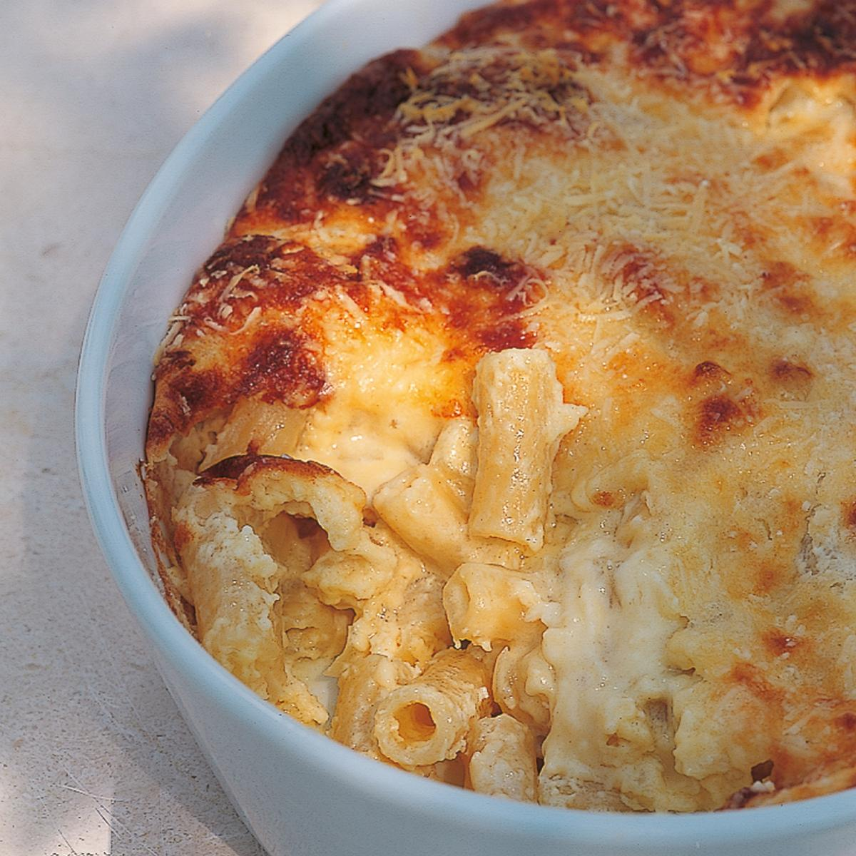 Htc souffled macaroni cheese