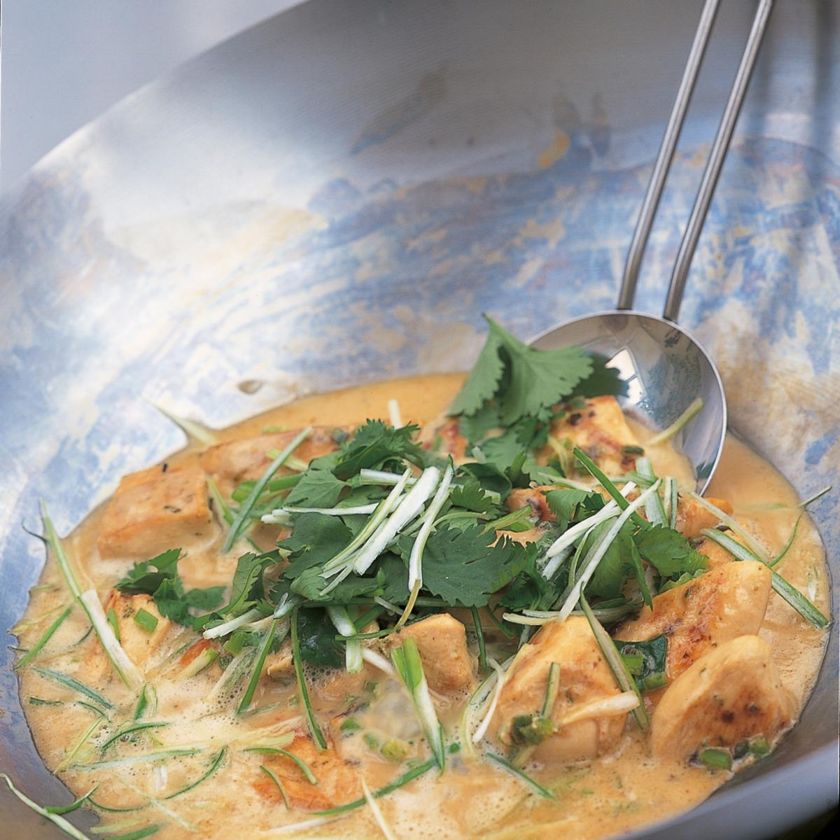 A picture of Delia's Stir-fried Chicken with Lime and Coconut recipe