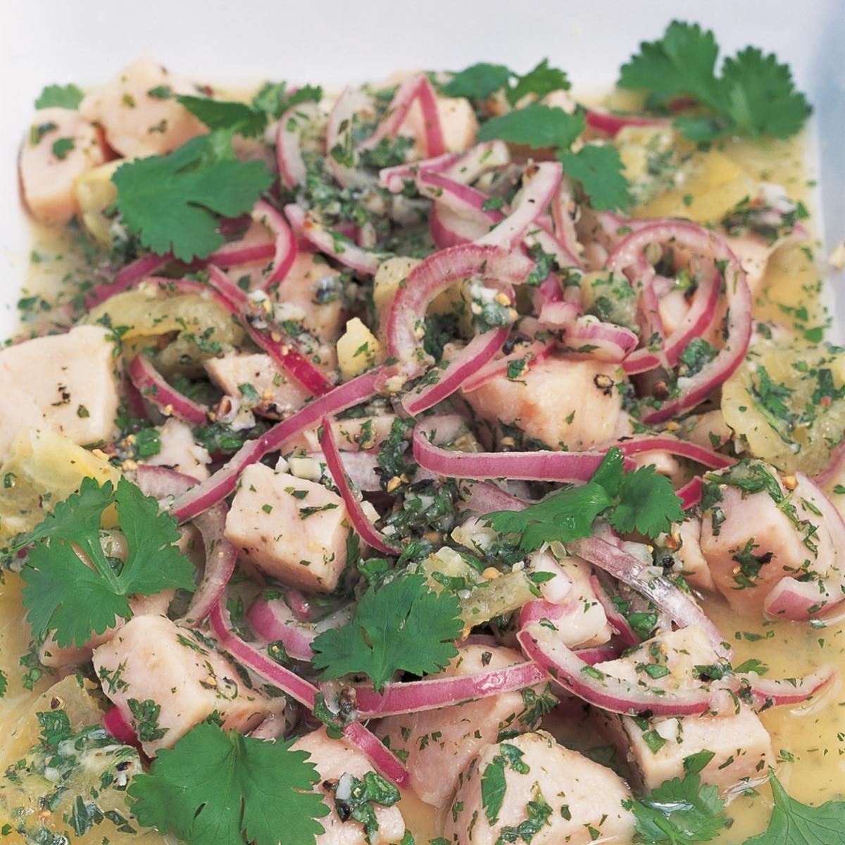 Htc swordfish ceviche