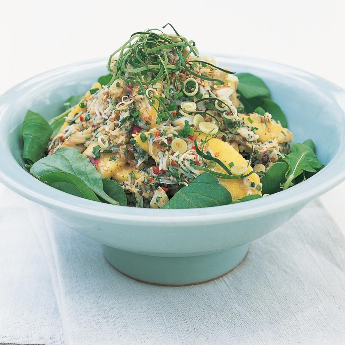 A picture of Delia's Thai Crab Salad with Mango recipe