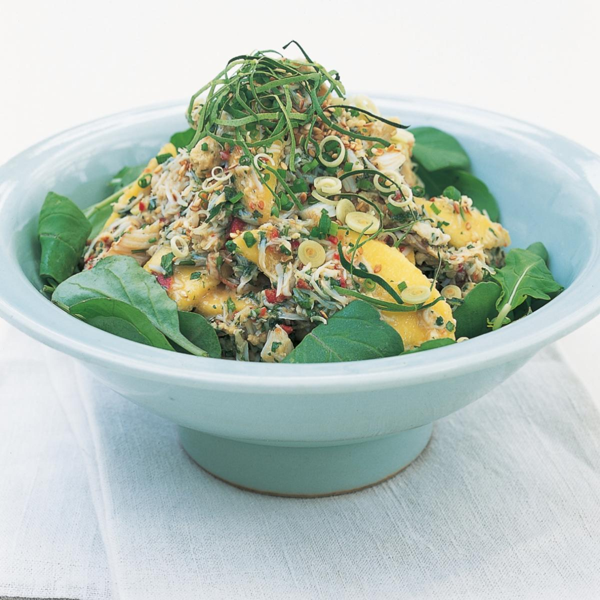 A picture of Delia's Thai Crab Salad with Mango recipe