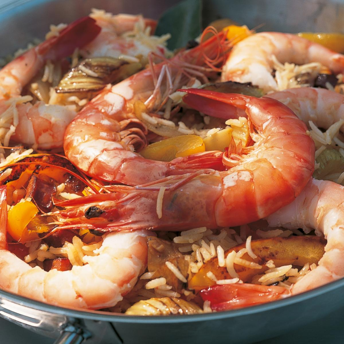 A picture of Delia's Tiger Prawn Jambalaya recipe