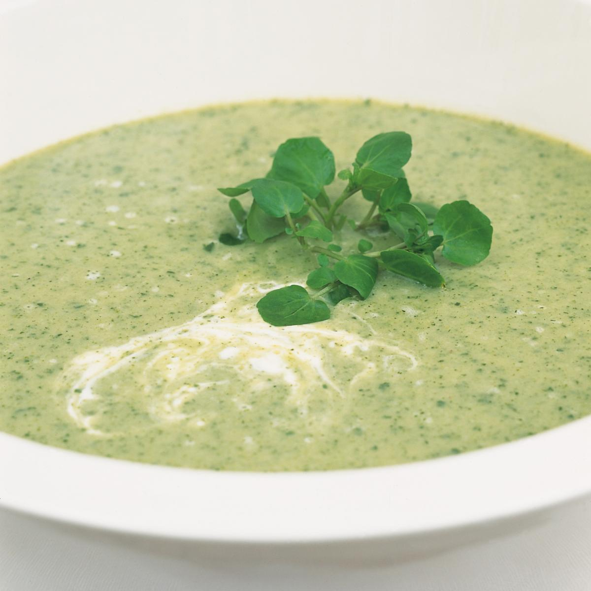 A picture of Delia's Watercress and Buttermilk Vichyssoise recipe