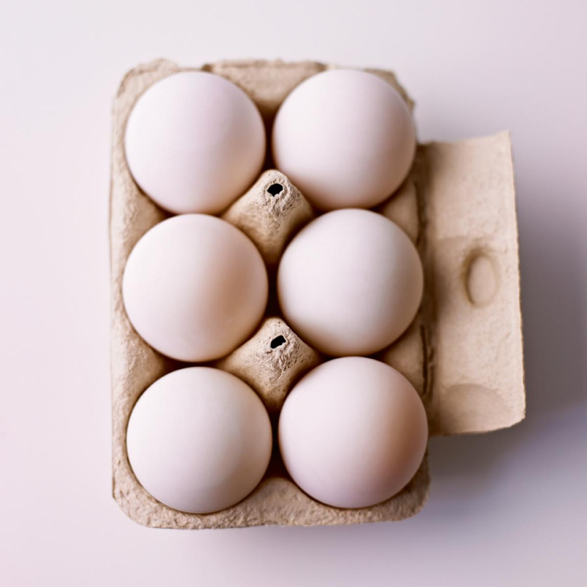 A picture of Delia's How to tell how fresh an egg is how to cook guide