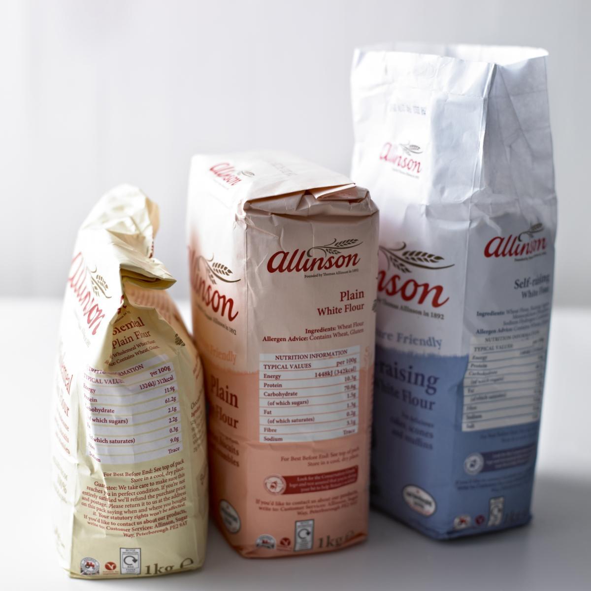 Ingredient cakes flour