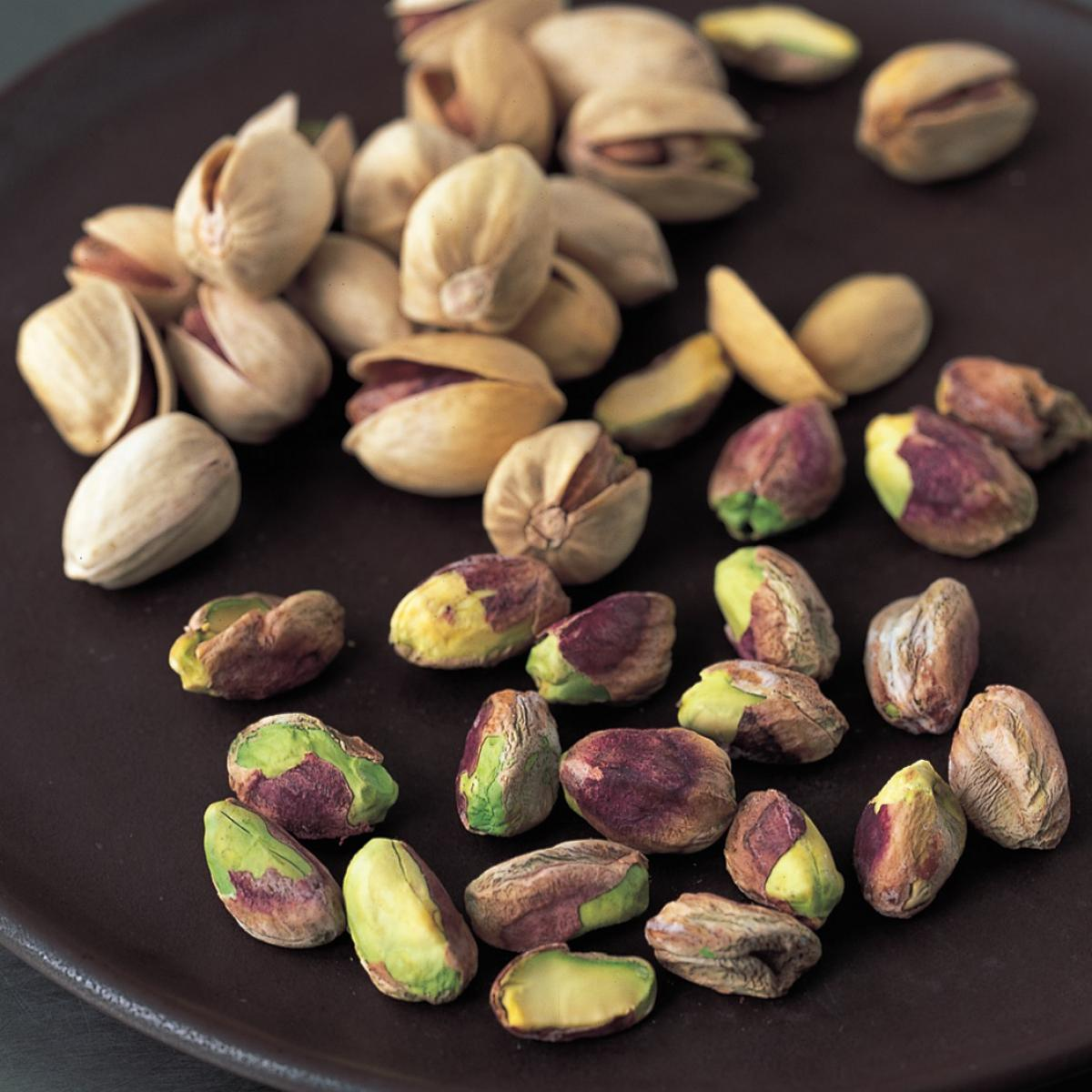 Ingredient chocolate pistachios