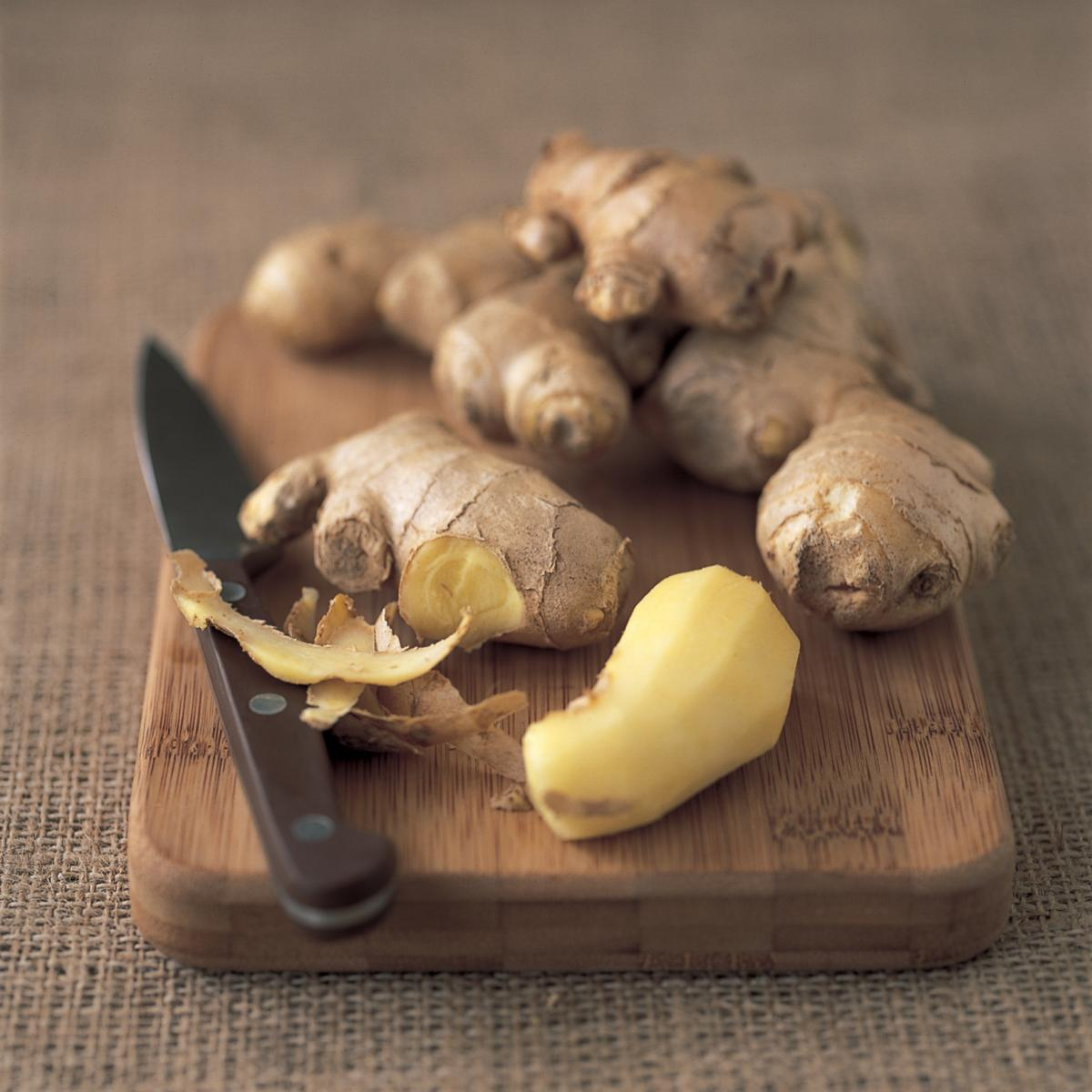 Ingredient fish ginger