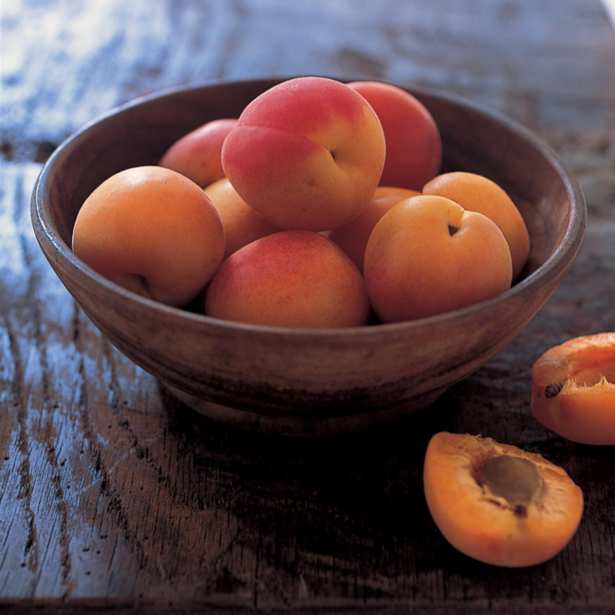 Ingredient fresh apricots