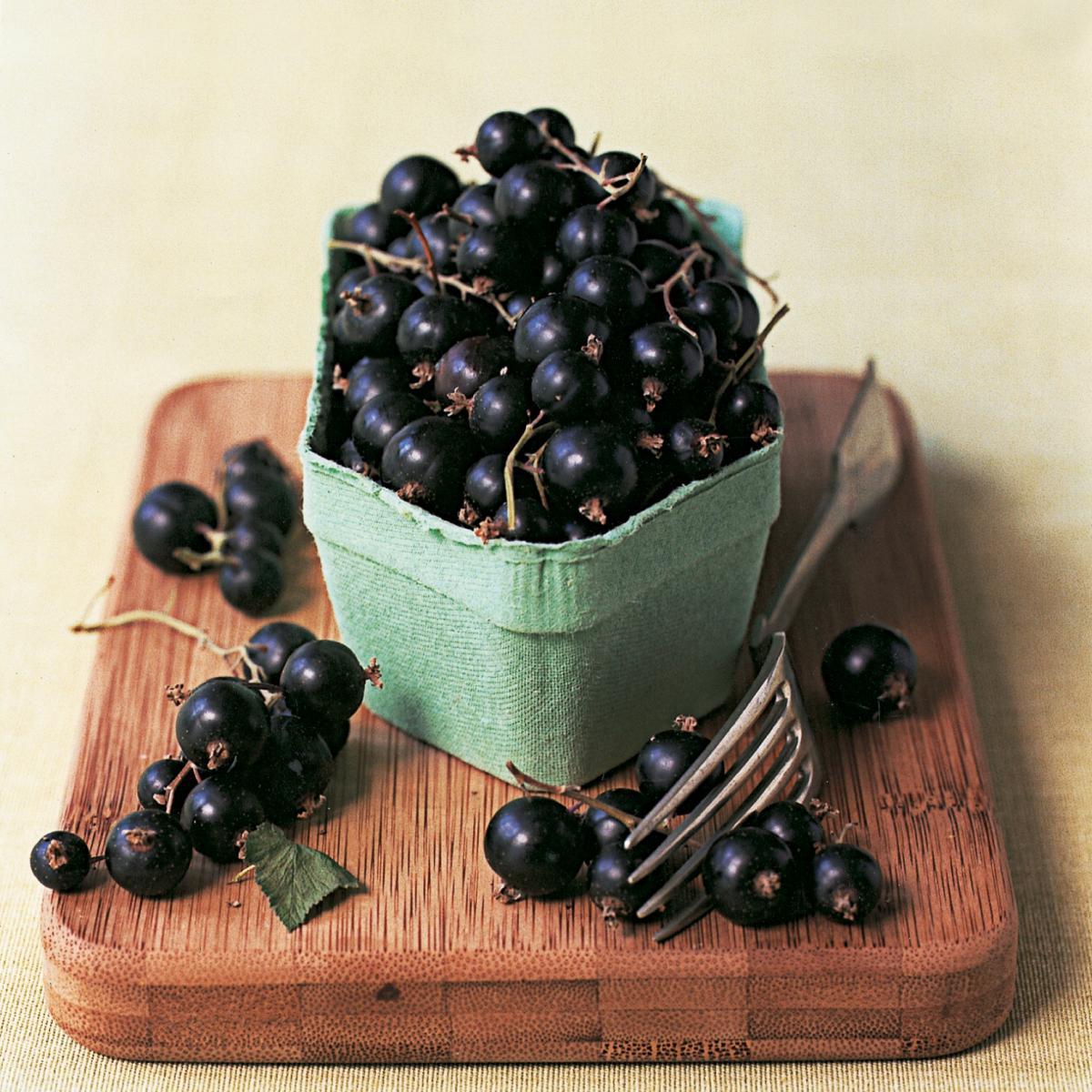 Ingredient puddings blackcurrants