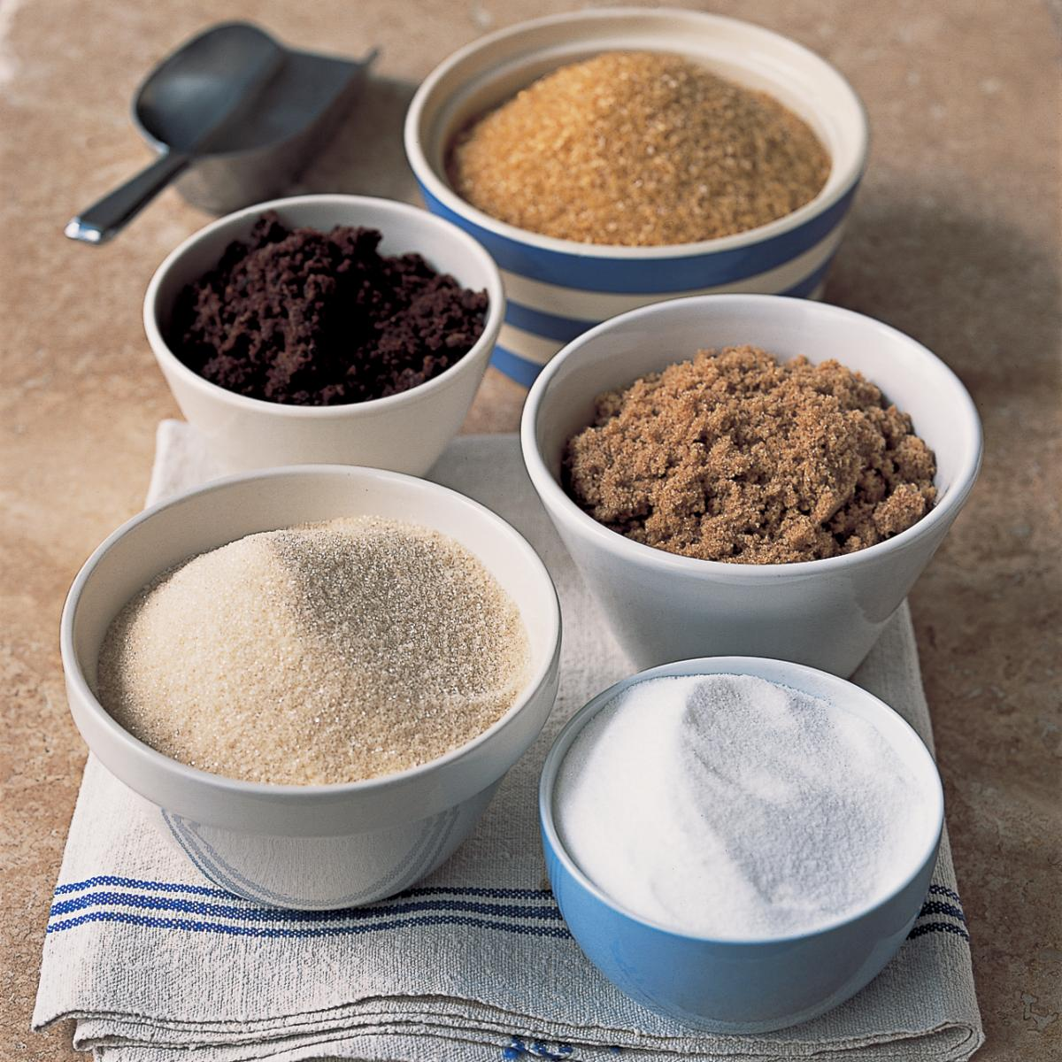 Ingredient puddings sugars and syrups