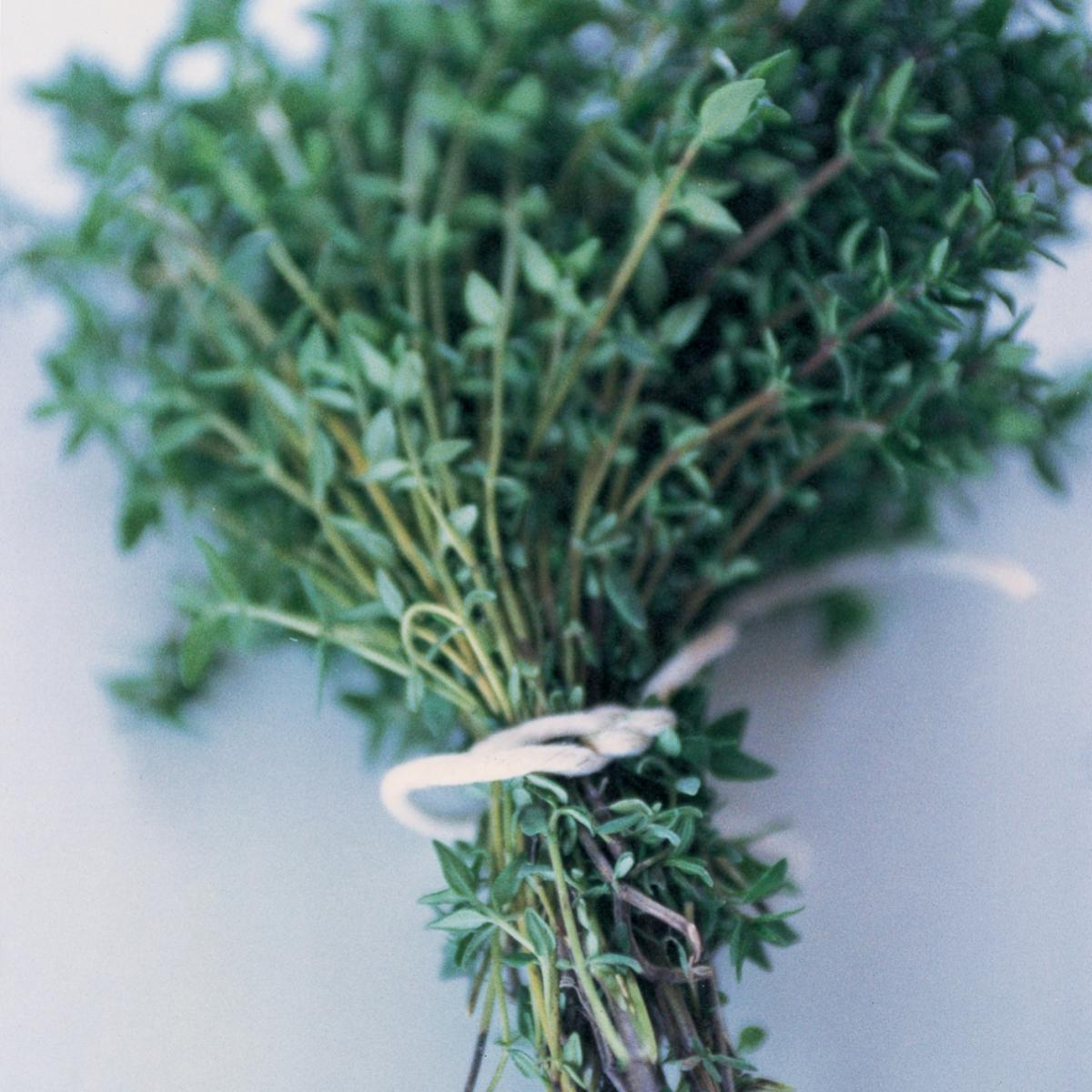 Ingredient soup fresh thyme
