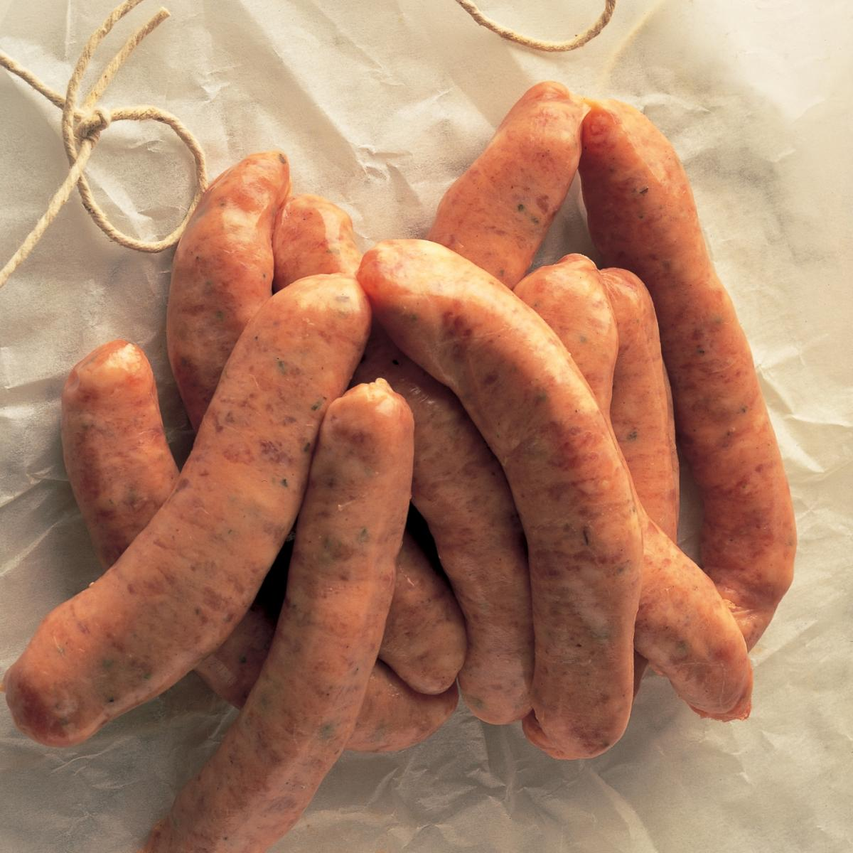 A picture of Delia's Sausages Boulangere recipe
