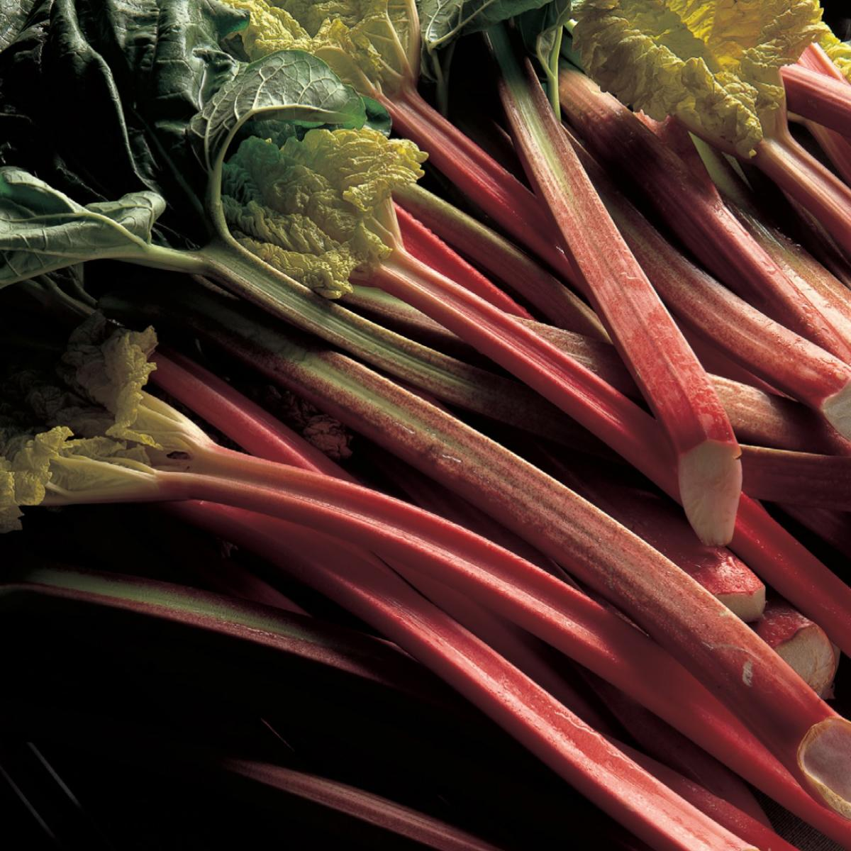Ingredient vegetarian rhubarb