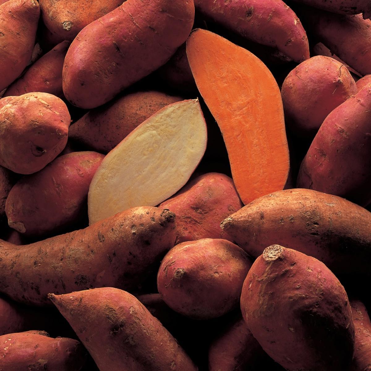 Ingredient vegetarian sweet potato