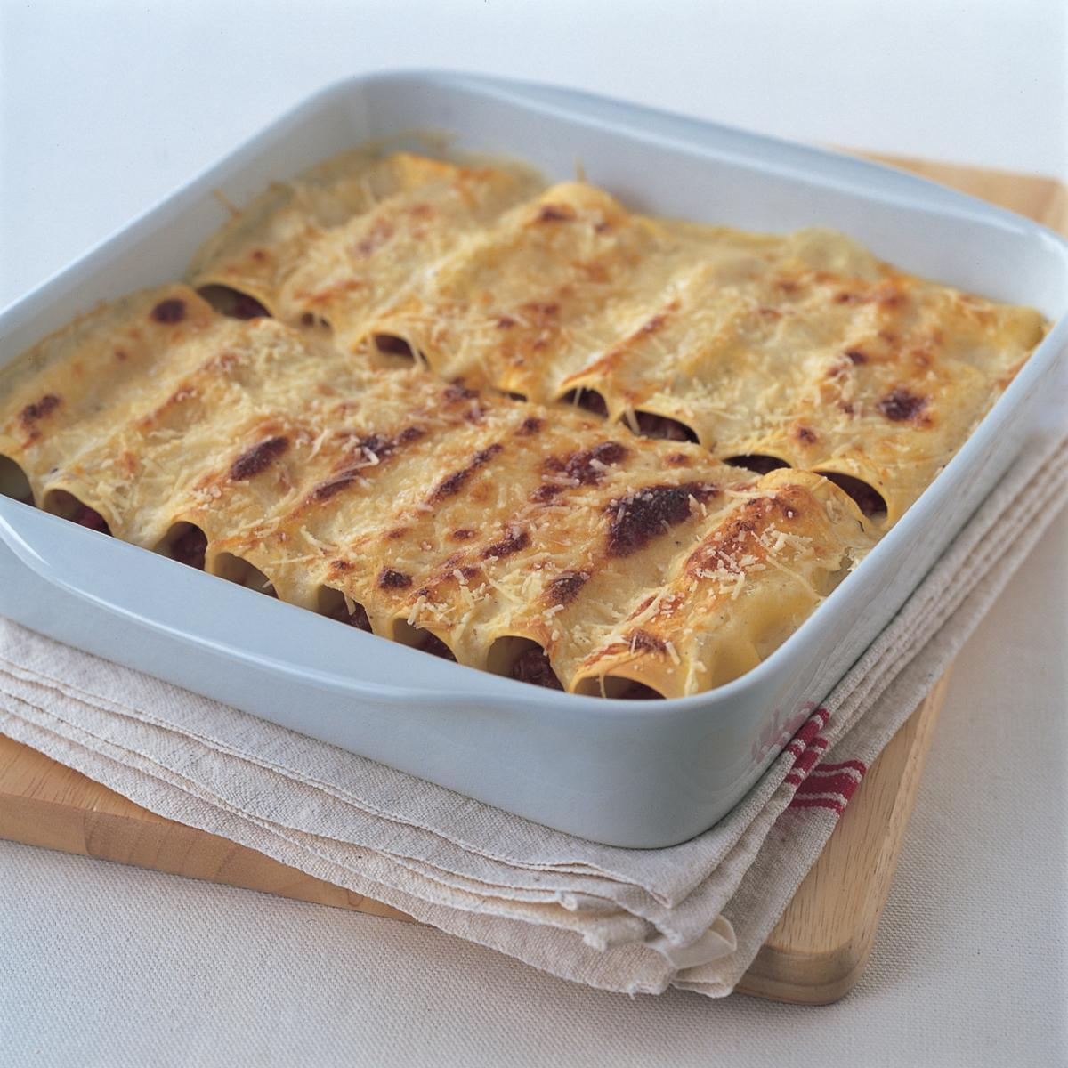 A picture of Delia's Baked Cannelloni recipe
