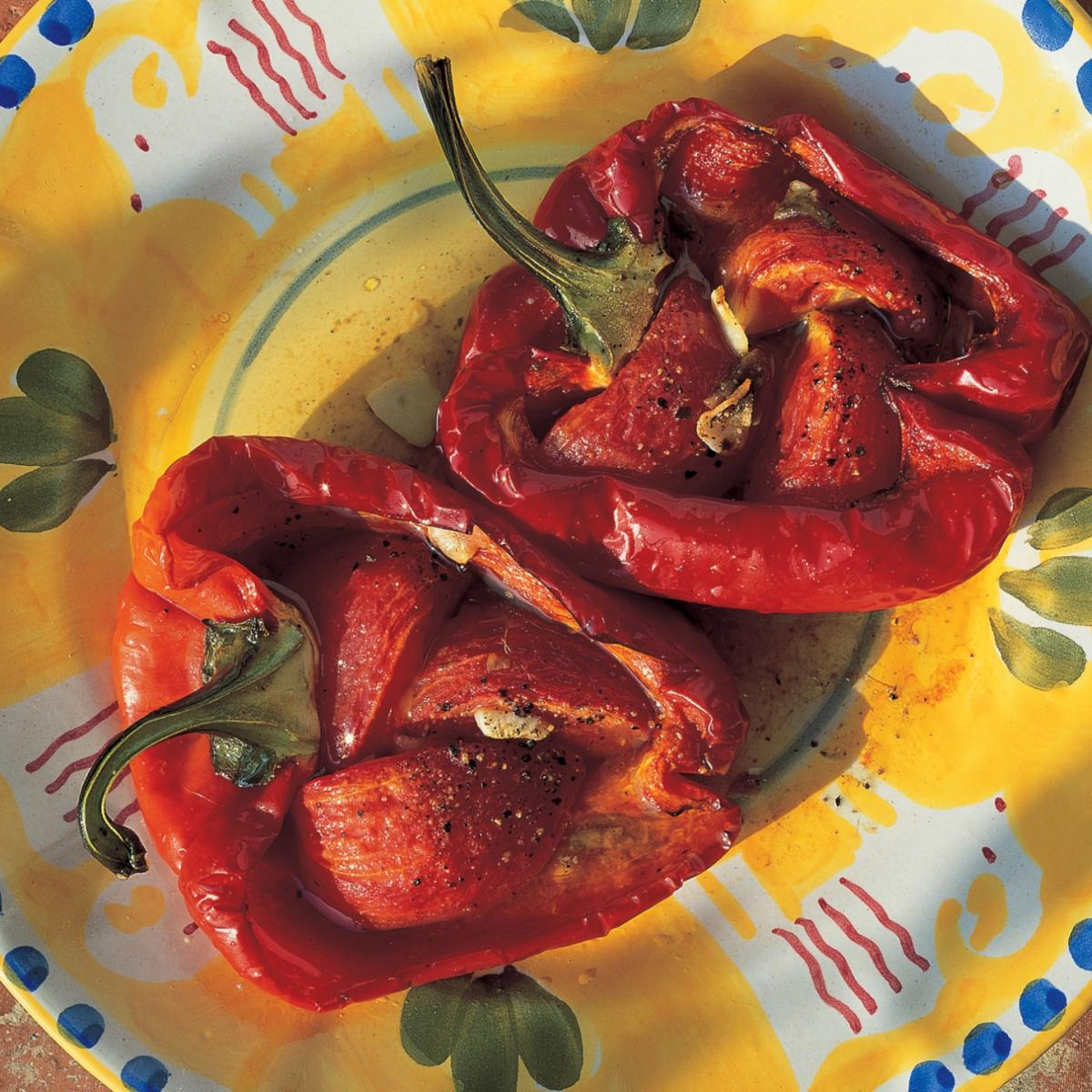 A picture of Delia's Piedmont Roasted Peppers recipe