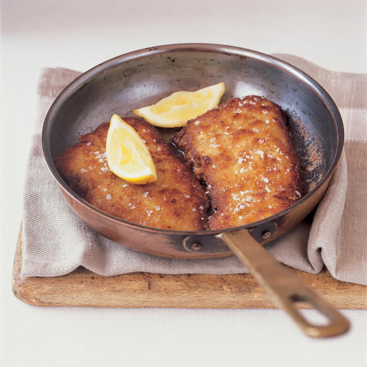 A picture of Delia's Veal Milanese recipe