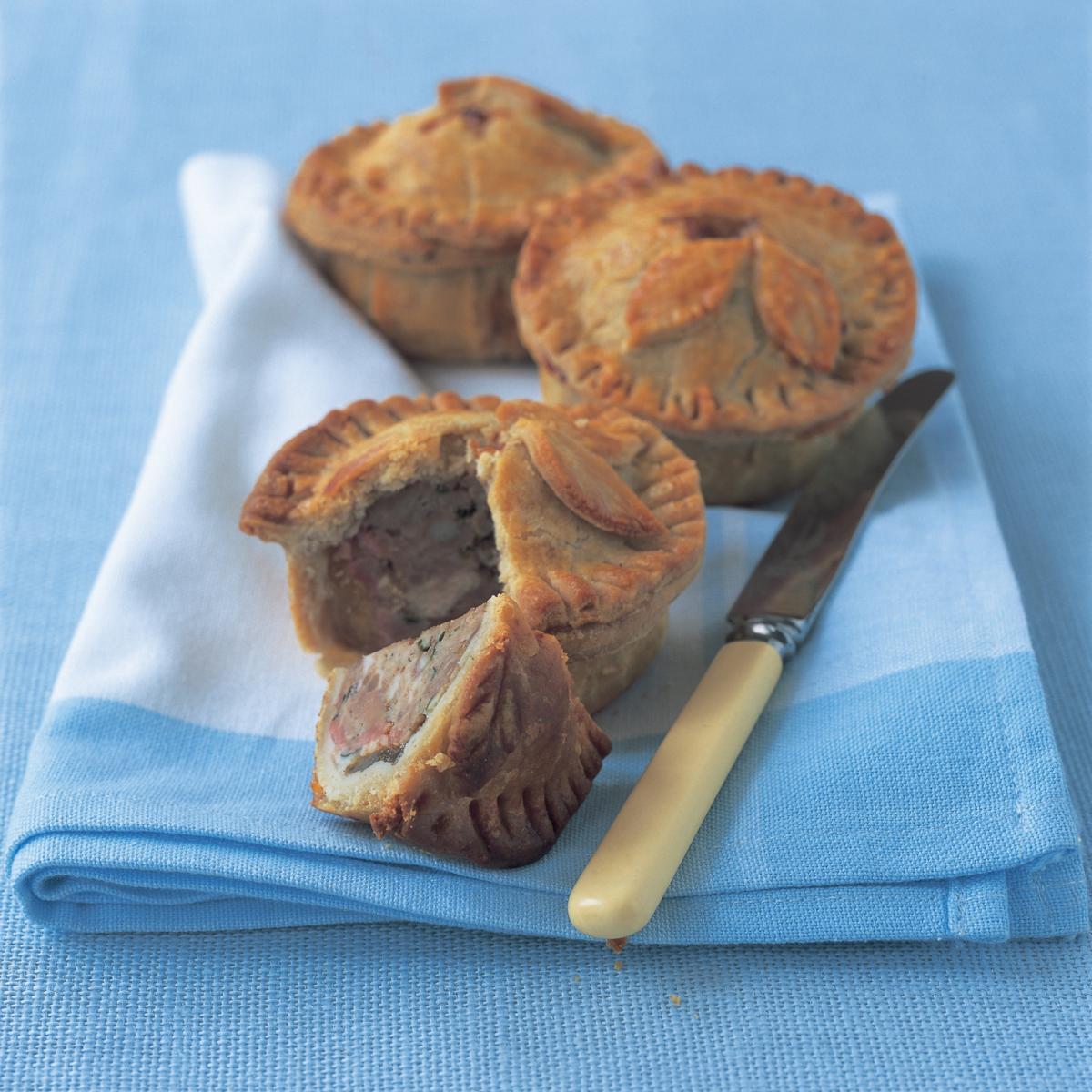 A picture of Delia's Old-fashioned Raised Pork Pies recipe
