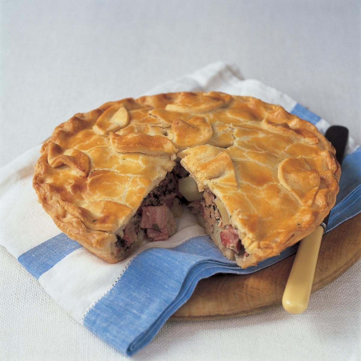 A picture of Delia's Picnic Pork Pie recipe
