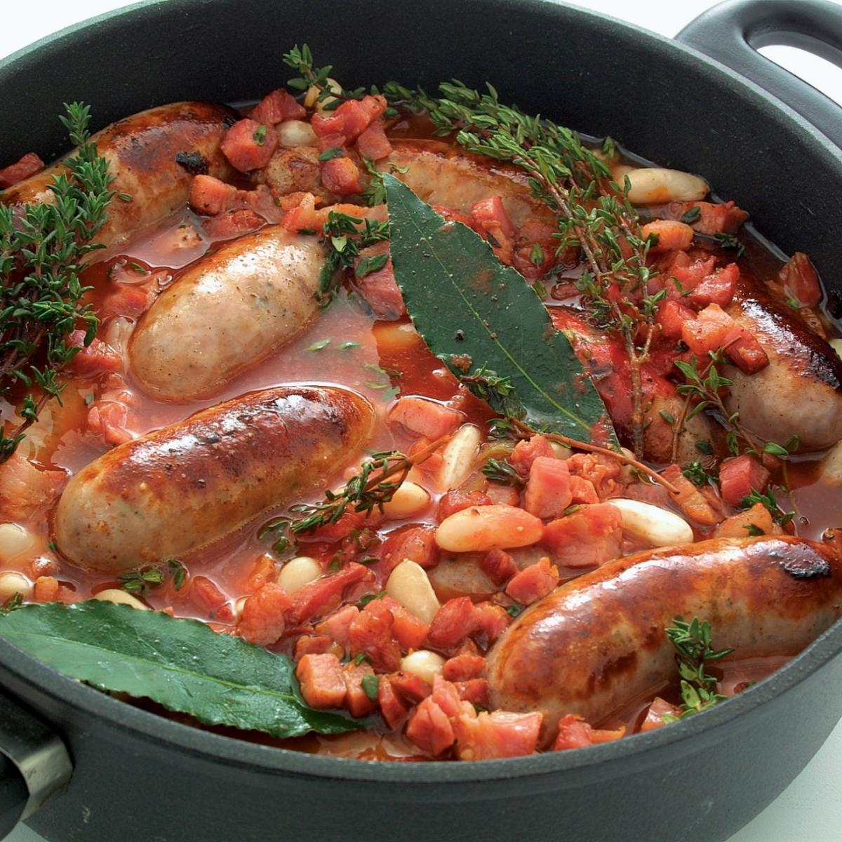 A picture of Delia's Poor Man's Cassoulet recipe