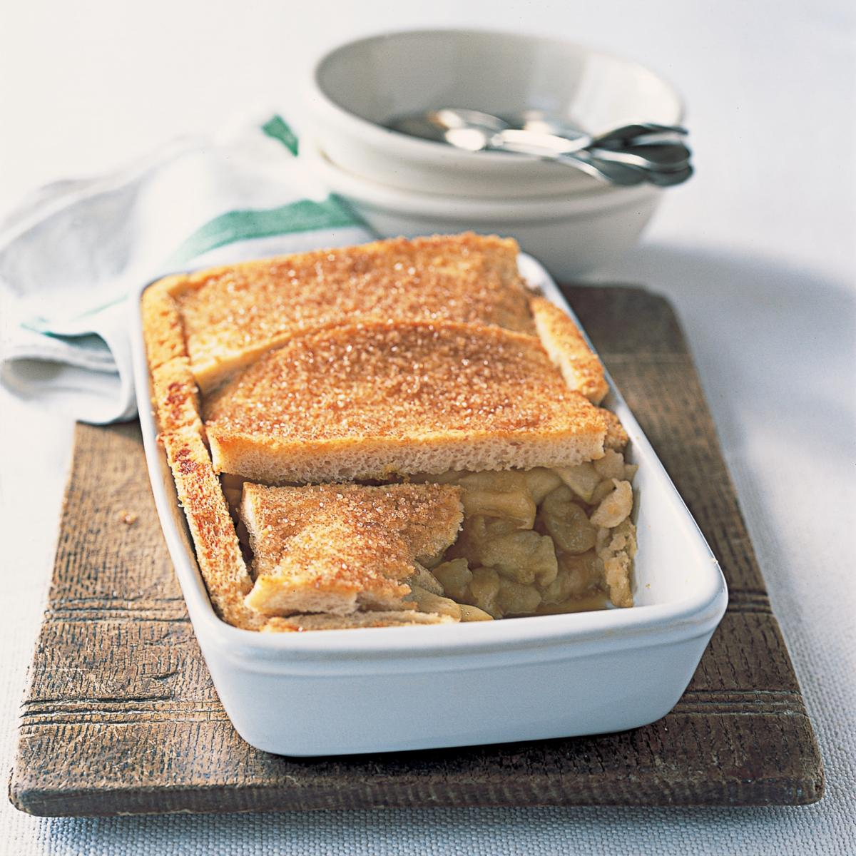 Puddings apple and orange crunch