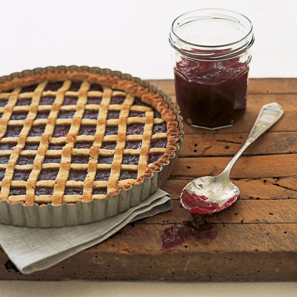 A picture of Delia's Linzertorte recipe