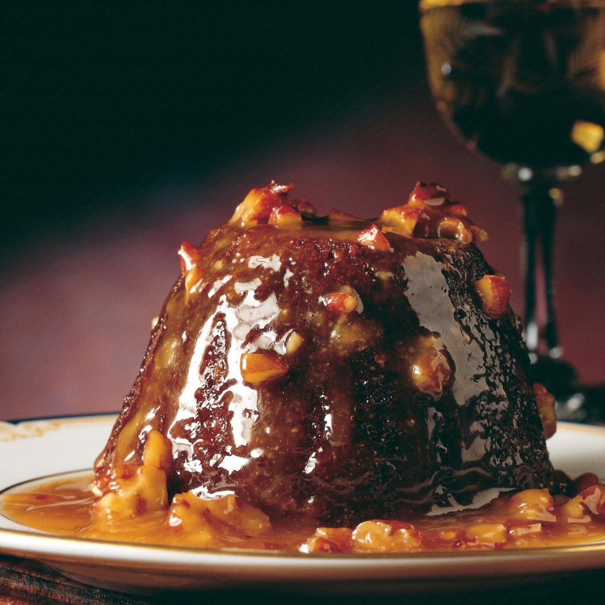 Puddings little sticky toffee puddings with pecan toffee sauce