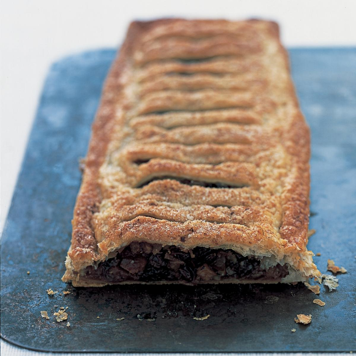 A picture of Delia's Mincemeat and Apple Jalousie recipe