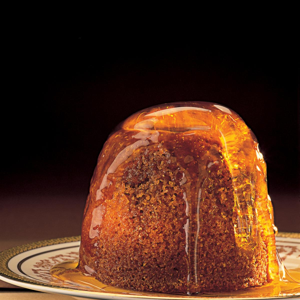 Puddings steamed treacle sponge pudding