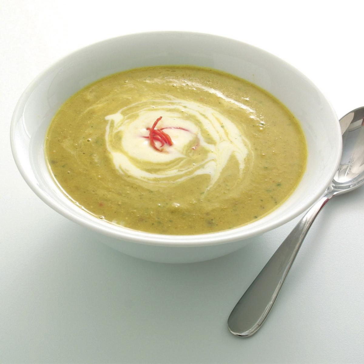 A picture of Delia's Chickpea, Chilli and Coriander Soup recipe