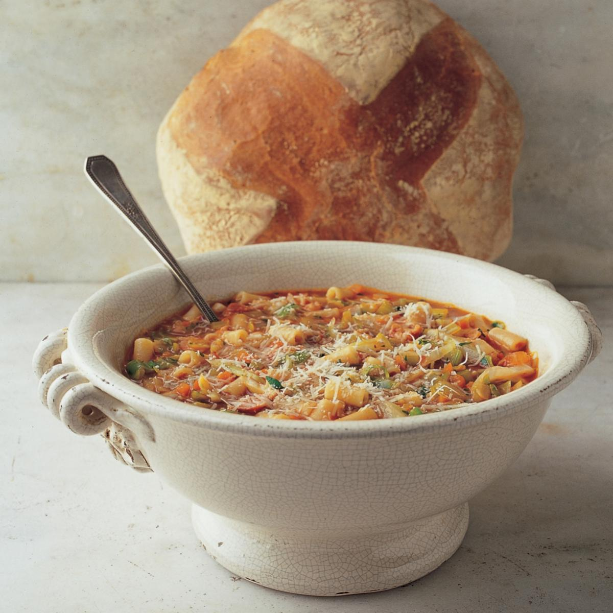 A picture of Delia's Minestrone with Macaroni recipe