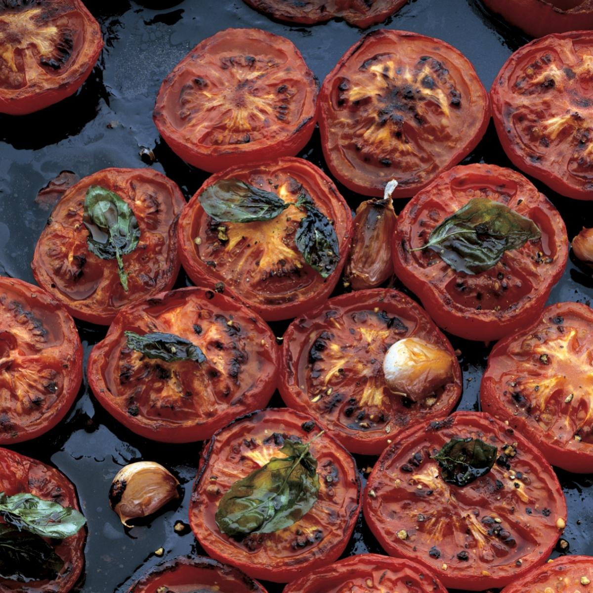Roasted Tomato and Goats' Cheese Tart with Thyme | Recipes ...