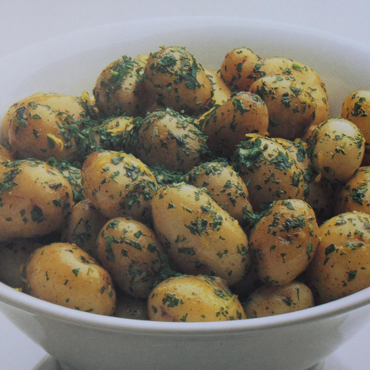 A picture of Delia's Lemon Parsley Potatoes recipe