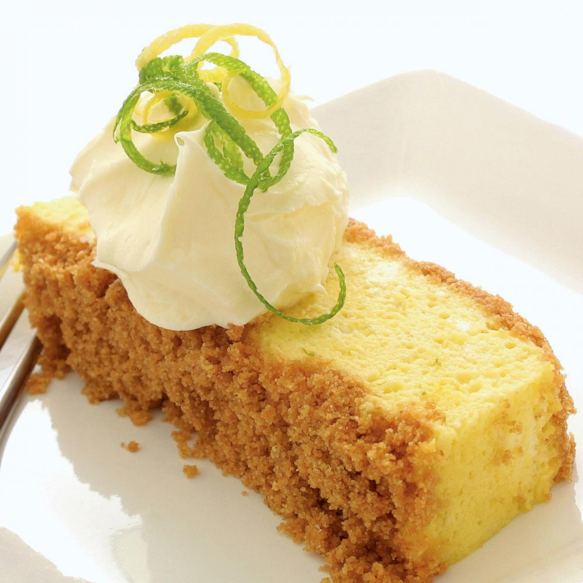 A picture of Delia's Lemon and Lime Refrigerator Cake recipe