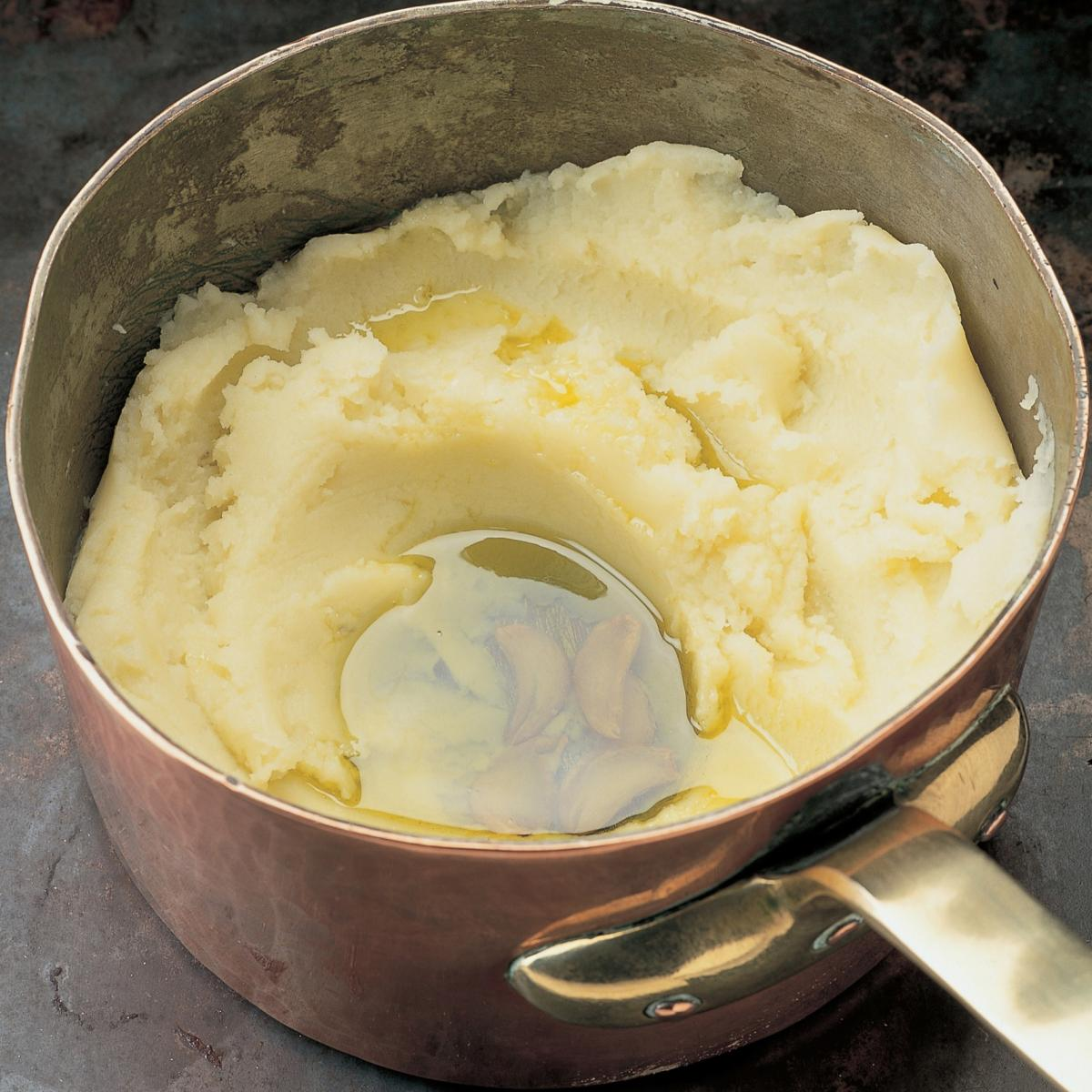 A picture of Delia's Mashed Potato with Garlic-infused Olive Oil recipe