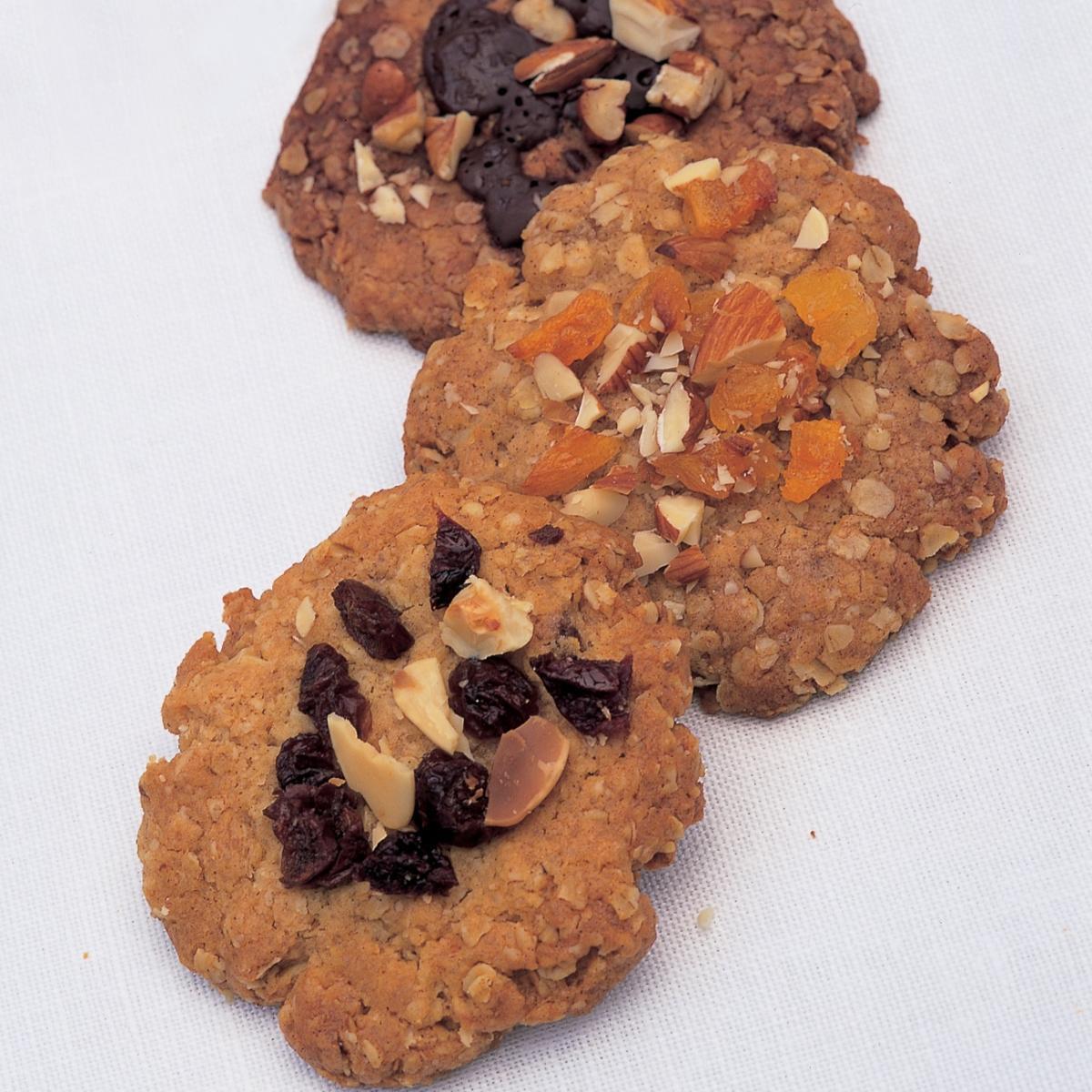A picture of Delia's Raisin Hazelnut Crunchies recipe