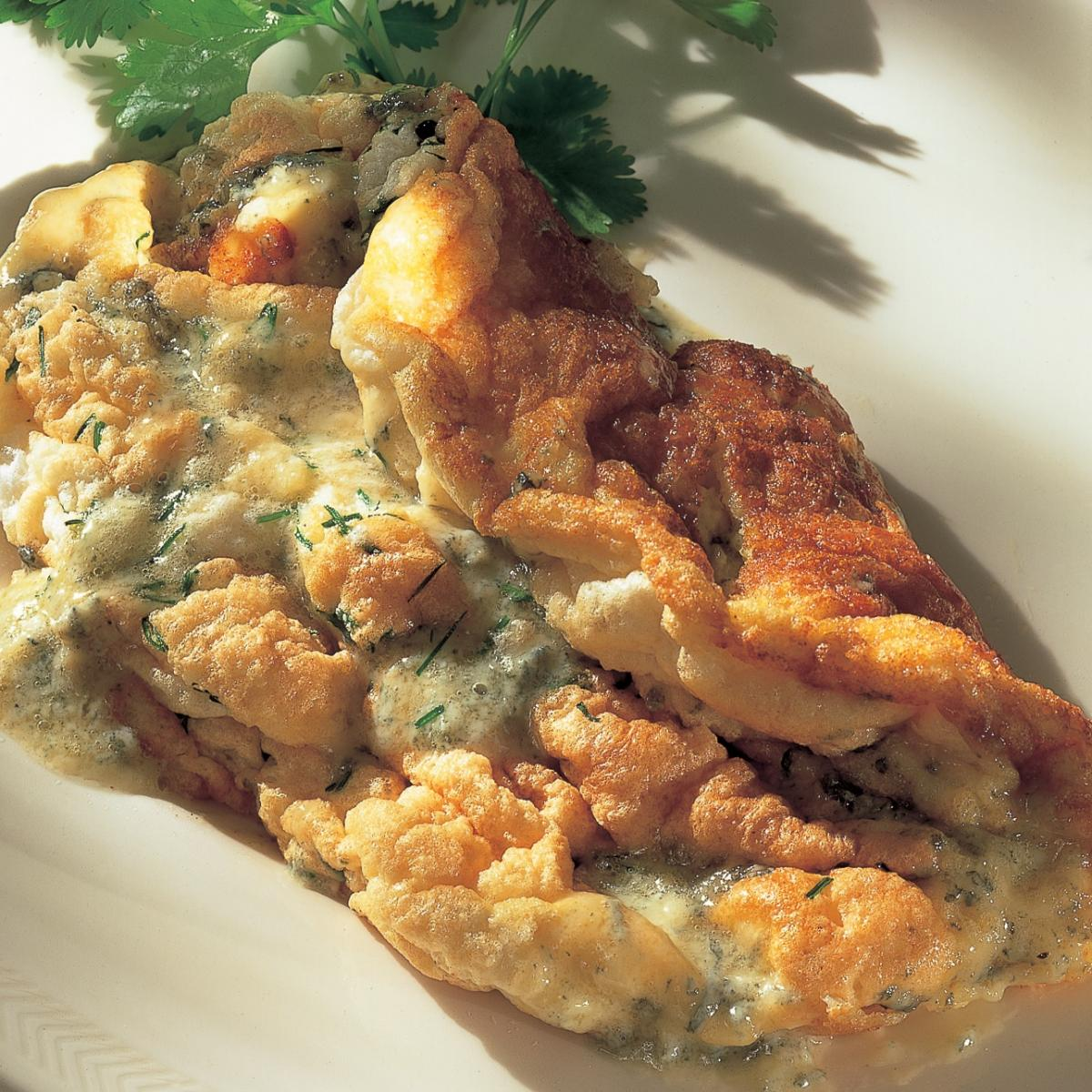 A picture of Delia's Stilton Souffle Omelette recipe