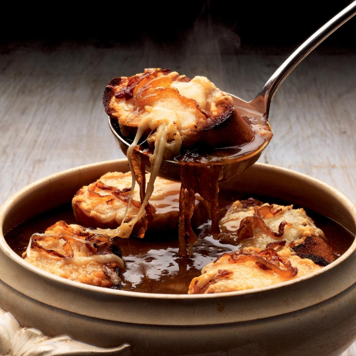 Winter french onion soup